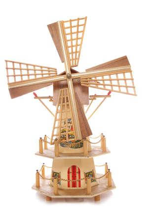 typically dutch: Dutch windmill ornament studio cutout
