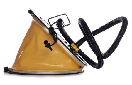 luxery: yellow camping inflator studio cutout