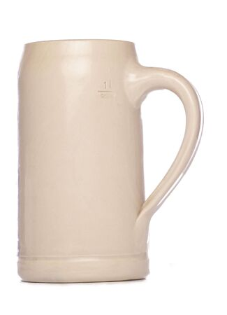 stein: German Beer Stein Mug studio cutout Stock Photo