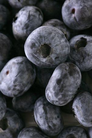 superfruit: Close up of pile of blueberry fruit Stock Photo