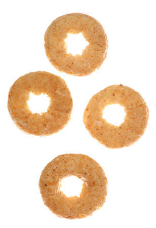 round cereal isolated studio cutout Stock Photo - 8072677