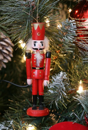 nutcracker christmas decoration on christmas tree stock photo picture and royalty free image image 8445799