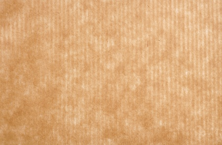 茶色の紙の背景テクスチャをラッピング