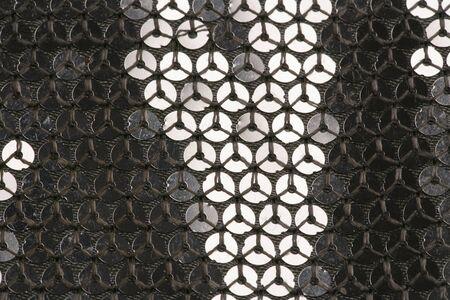 sequin: sequin handbag macro abstract background