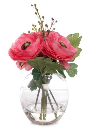 花瓶スタジオ カットアウトのバラ