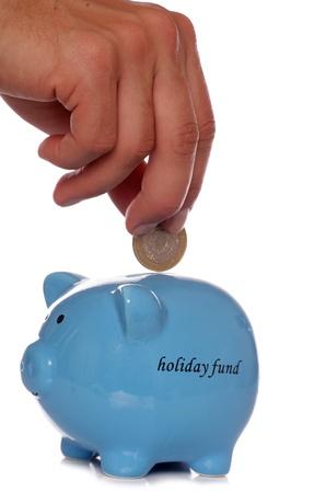piggybanks: saving for a holiday studio cutout