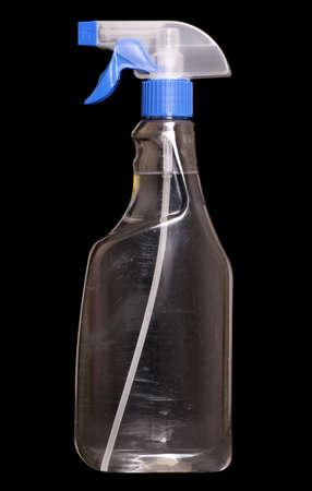d�sinfectant: nettoyage produit d�sinfectant sur fond noir