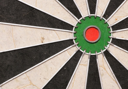 Dartboard abstract background rule of thirds photo