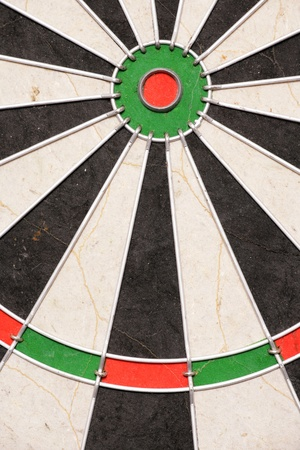 Bullseye of dartboard abstract background photo