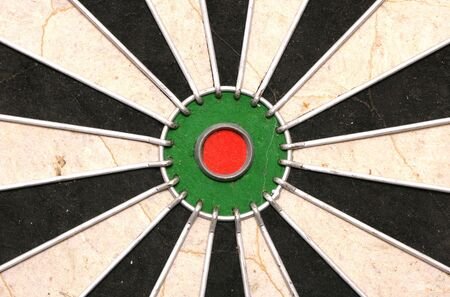 Bullseye of a Dartboard abstract background Stock Photo - 12381202