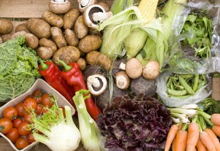 Verduras saludables textura de fondo abstracto