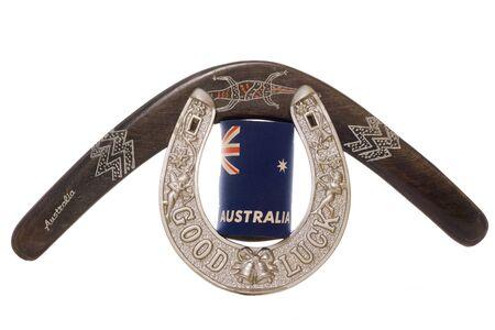 Travelling to Australia studio cutout Stock Photo - 15313056
