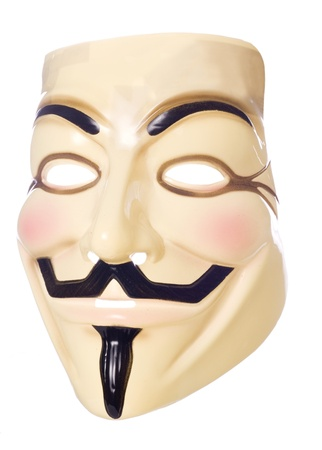 vendetta: V for Vendetta halloween mask studio cutout
