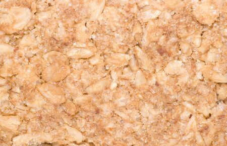 granola bar abstract background texture Stock Photo - 17413504
