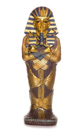 エジプトのミイラの棺スタジオ カットアウト
