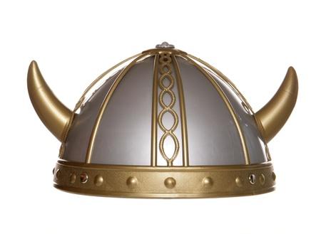 バイキング戦士のヘルメット スタジオ カットアウト
