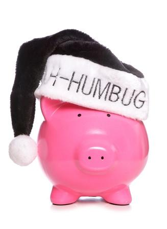 bah: Cost of christmas studio cutout