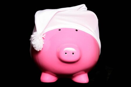 wee: Make money in your sleep piggy bank Stock Photo