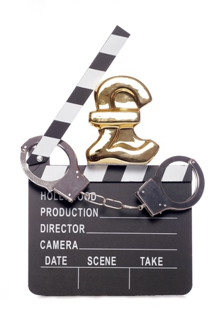 Piracy costing money in the film industry studio cutout photo
