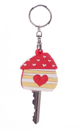 doorkey: Chiave di casa con il cuore protettore studio ritaglio