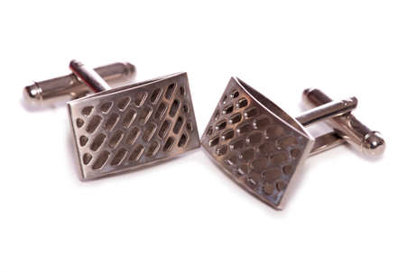 cuff links: silver cuff links studio cutout