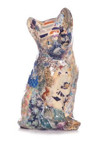 decoupage: decoupage decopatch cat studio cutout Stock Photo
