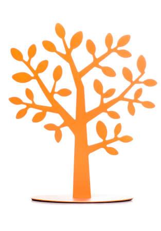 naranja arbol: Naranjo decoraci�n recorte de estudio