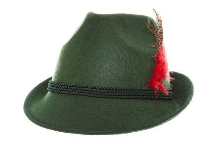 緑のバイエルン帽子スタジオ カットアウト