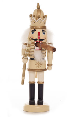 nutcracker christmas decoration studio cutout photo