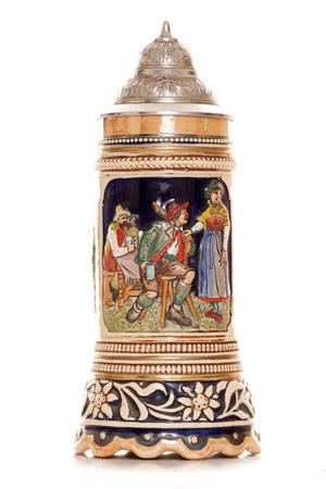 stein: Musical german beer stein cutout