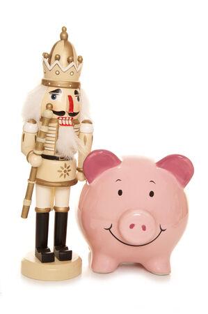 bargains: christmas bargains piggy bank cutout