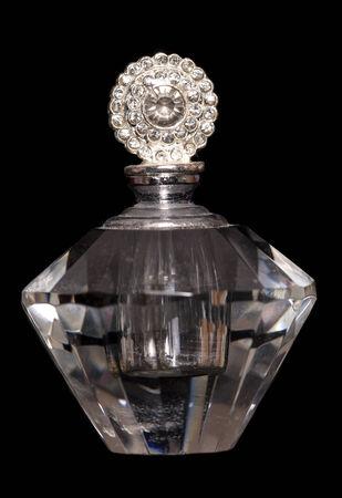 diamante: dressing table perfume studio cutout Stock Photo