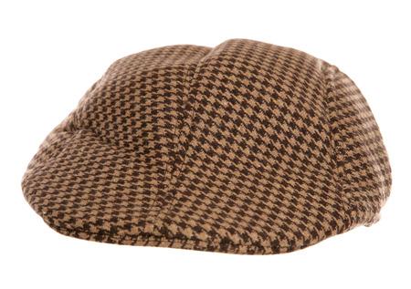 flat cap: farmers flat cap Stock Photo