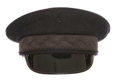 black chauffeur fancy dress hat cutout photo