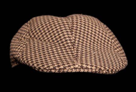 cutout: brown farmers flatcap cutout
