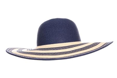 blue summer sun hat cutout