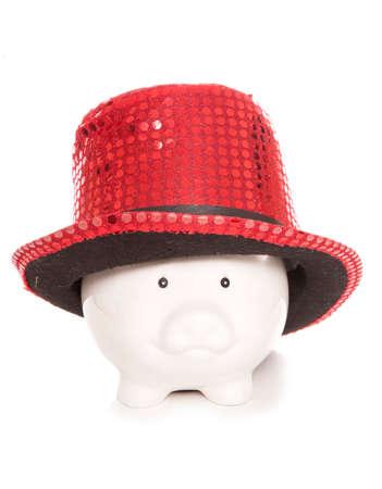 stopper: show stopper caberet piggy bank cutout