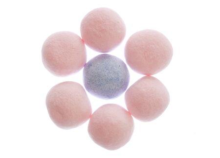 bon: strawberry bon bon sweets cutout Stock Photo