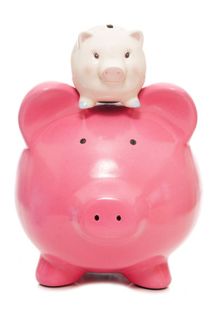 pig out: saving for your children piggy bank cutout