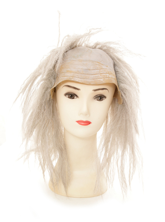 to cut out: mannequin wearing beetlejuice wig studio cut out