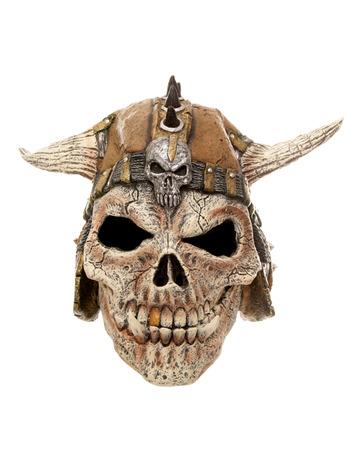 halloween mask: scary skull halloween mask cutout