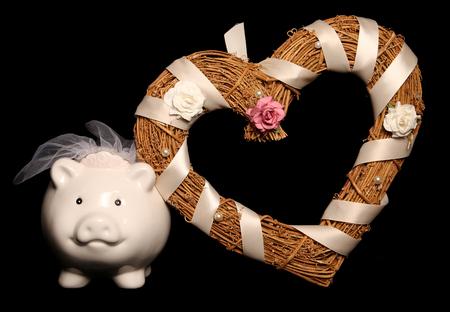 結婚式貯金箱素材の省エネ
