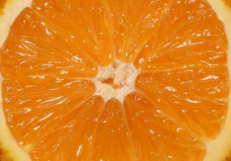 オレンジ色の果物マクロ抽象的な背景