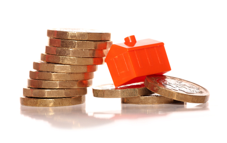 Housing market - coins