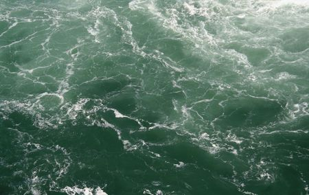 swells: The wild swells of Niagara Falls.