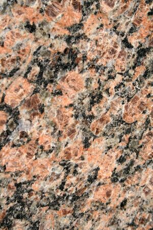 A close up of a granite wall. Stock Photo