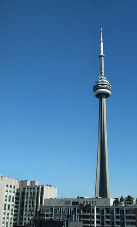 The CN tower in Toronto, Ontario, Canada. Stock Photo - 5409969