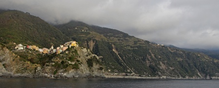 The outskirts of the village of maggiore.  One of the five villages that make up Cinque Terre.  Located on the rugged coast of the Italian Riviera in the Liguria region of Italy. Stock Photo - 13319921