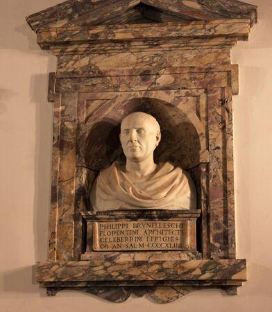 피렌체 브루넬레스키 (Bello of Filippo Brunelleschi), 피렌체의 두오모 설계 르네상스 건축가  엔지니어. 에디토리얼