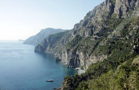 The majestic Amalfi Coast in southern Italy.